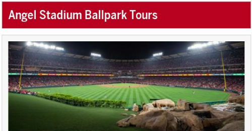 Field trip to Angel Stadium Tour