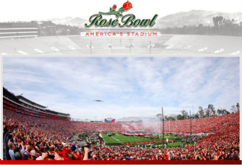 Field trip to Rose Bowl Stadium Tour